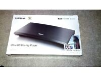 Samsung UBD-K8500 UHD 4k Blu-ray *New* + 3 UHD Blu-ray Films