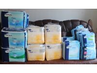 Incontinence products, various