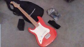 Mini-Electric guitar starter pack