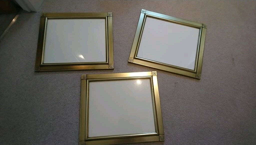3 Gold Picture Frames Size 10x 12 In Larbert Falkirk Gumtree