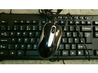 Asda multimedia usb keyboard and mouse vgc hardly used coleraine
