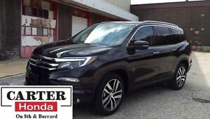 2016 Honda Pilot Touring + NAVI + REAR DVD + AWD + CERTIFIED!