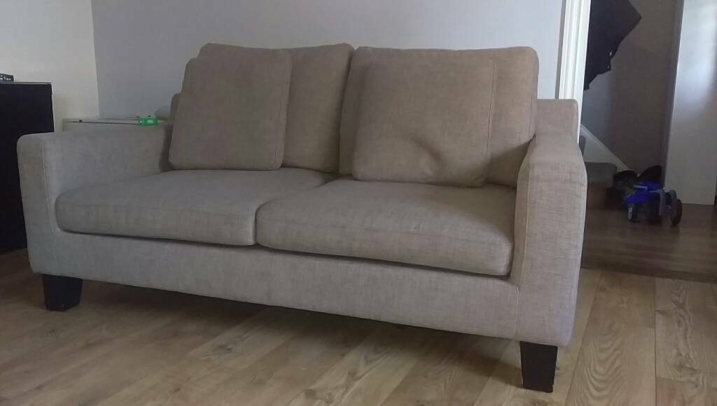 Dwell 2 Seater Sofa Thorn Colour Vgc In Basildon Essex Gumtree