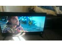 Jvc 39c460 led tv like new but line on screen