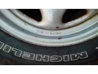 Michelin 4 x4 Radial tyre