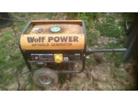 Wolf Generator 3500LR Petrol