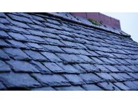 Large Quantity of 100 year old grey roof slate