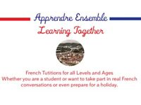 French Tutoring from a highly qualified native french teacher
