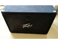 Peavey 210 TX Bass Cabinet. 4 OHMS, 350 W peak. Older version of the 210TVX