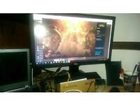 BenQ RL2455HM Pc gaming monitor 1ms 1080p Full HD