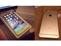 Gold 128Gb iphone 6