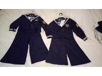 Kids Pilot / Sailor / Captain Uniform 3 Piece Costume for Halloween & Dress Up, BRAND NEW WITH TAGS