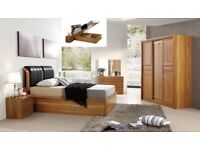 BRAND NEW SOLID MDF WOODEN SINGLE / DOUBLE / KING SIZE OTTOMAN STORAGE GAS LIFT-UP BED FRAMES