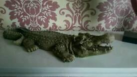 Crocodile ornament