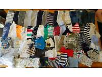 Baby boys clothes and jackets bundle 3-6 months