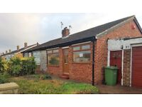 Attractive Semi Detached Two Bedroom Bungalow with Double Garage - Free Hold - Thornaby, Teesside