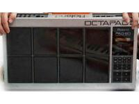 Roland Octapad Pad-80 + M-Audio 2x2 MIDI Interface