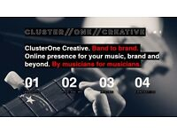 ClusterOne Creative | Band to brand | Online presence for musicians by musicians