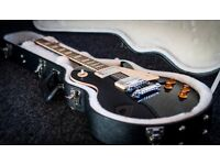 Gibson Les Paul Standard, Ebony Chrome Hardware (2012) - Mint Condition