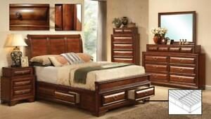 QUEEN BEDROOM WITH STORAGE - GIVE CONTEMPORARY TOUCH TO YOUR BEDROOM (IF117)