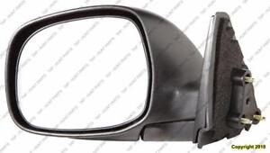 Door Mirror Manual Driver Side Regular/Access Cab Base Sr5 Model Textured Toyota Tundra 2000-2006