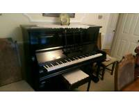 Black Chappell Piano and stool