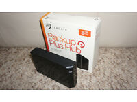 Seagate 8TB Backup Plus Hub External Hard Drive USB 3.0