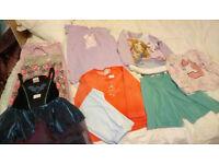X9 Girls Clothes Bundle age 3-4 Years:Dress,Leggings,Long Sleeve Tops, Nightware (John Lewis etc)