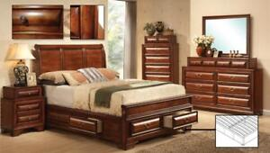 GREAT BEDROOM FURNITURE SALES- SOLID WOOD BEDROOM SETS - FREE SHIPPING | CALL -905-451-8999(BD-34)