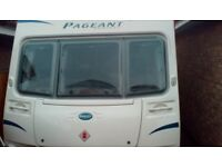 Bailey Pageant Series 7 Sancerre 2009 Fixed Bed 4 Berth