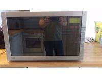 Sanyo large high power combi microwave (1450W), oven (1200W) and grill (1200W)