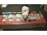 Light Bulb Box with six bulbs