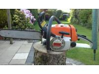 Stihl 024 (ms 240)professional chainsaw in excellent condition