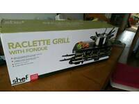 Raclette Fondue Grill - never used.