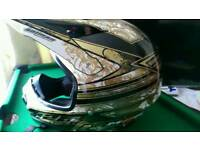Cross bike helmet size L