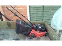Champion petrol lawnmower