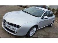2007 ALFA ROMEO 159 LUSSO 2.4 JTDM [200bhp] 1 YEARS MOT - FULL LEATHER (PART EX WELCOME)