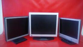 Pc Monitors for sale.