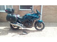 Yamaha TDM 900 Sports Tourer with Full Hard Luggage