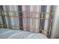 Headboard-brass
