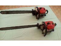 Stihl 32 inch blade vintage chainsaws