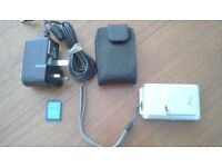 Digital camera with case etc