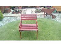 Wrought Iron Garden Chair