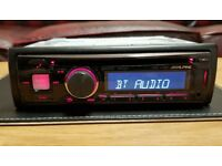 CAR HEAD UNIT CDE-173BT MP3 CD PLAYER WITH BLUETOOTH USB AUX 4x 50 AMPLIFIER AMP STEREO RADIO BT