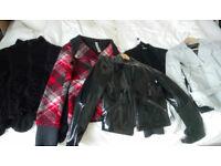 x5 Smart Ladies Jackets/Cardigans Bundle,sz 8,12,M, ZARA, NEXT,TAIFUN,FRASERS, EXC. COND. Nearly NEW
