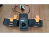 Rechargeable Ryobi batteries/Charger