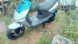 Peugeot scooter spares or repair runs and rides well £250ono