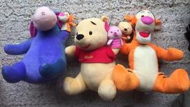 Disney store cuddly toys