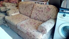 Two seater Settee and matching chair
