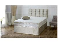 King size bed 2 drawers with ortho mattress